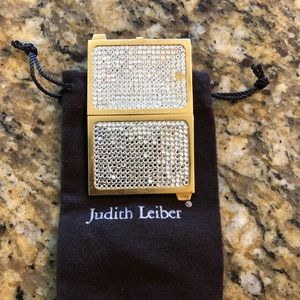 Authentic Judith Lieber mini picture gold frame